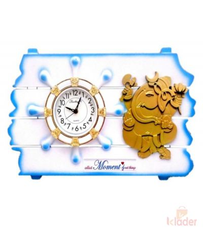 New Trendy Ganesha Clock 3 Piece
