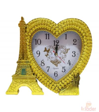 Paris Love Clock 2 Piece