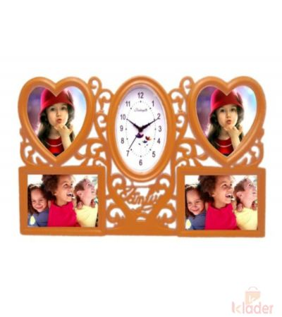 Olive Clock With Beatyful Frame 6 Piece