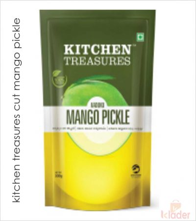kitchen treasures cut mango pickle 200gm