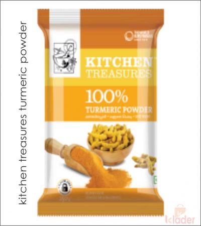 kitchen treasures turmeric 100 gm